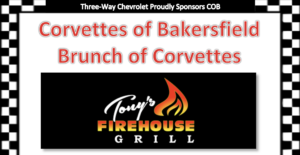 Brunch of Corvettes @ Tony's Firehouse Grill | Bakersfield | California | United States