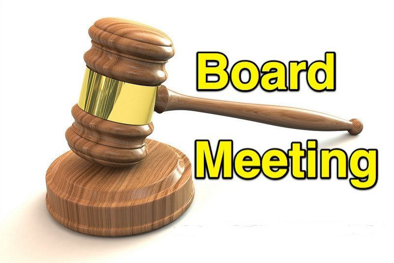 COB Board Meeting
