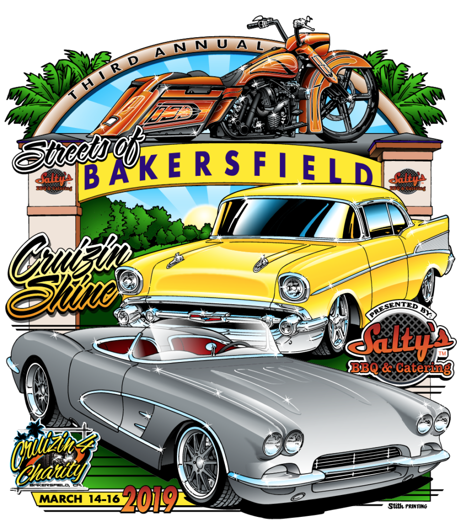 Cruizin-4-Charity – Streets of Bakersfield