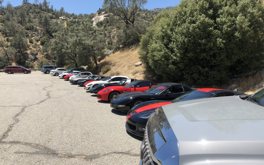 Ridgecrest Corvette Club's Cruise to Kernville
